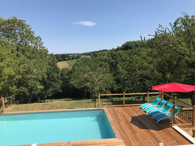 Photo for *New* A beautiful French farmhouse with private swimming pool