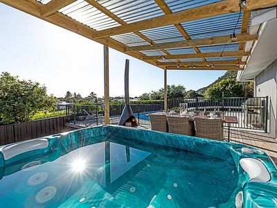 Photo for Pool and Spa Escape - Pauanui Holiday Home