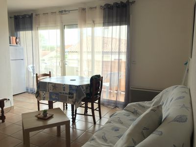 Photo for Bassin Arcachon apartment T2 recent balcony and parking