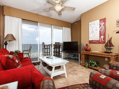 Photo for Gulf Dunes 508: THE PERFECT BEACH GETAWAY WITH FREE BEACH CHAIRS AND GOLF!