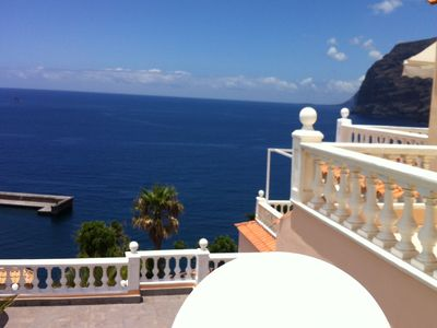 Photo for WITH VIEWS TO THE SEA AND CLIFFS, SWIMMING POOL, WIFI, INTERNATIONAL T