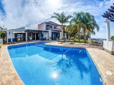Photo for Amazing 6 bedroom villa in Amarilla Golf with a beautiful huge heated pool