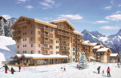 Photo for 1 bedroom accommodation in Plagne Villages