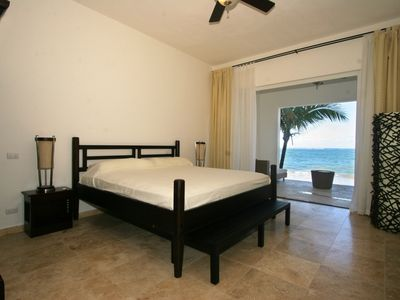 Photo for 3-Bedroom Beachfront Condo in Central Cabarete with Jacuzzi on terrace