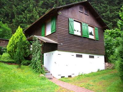 Photo for Cottage directly at the forest, completely fenced, on 2000 square meters, holiday with dog