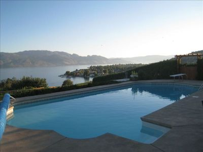 Photo for Beside Quails' Gate Vineyard by Okanagan Lake with Pool/Hottub