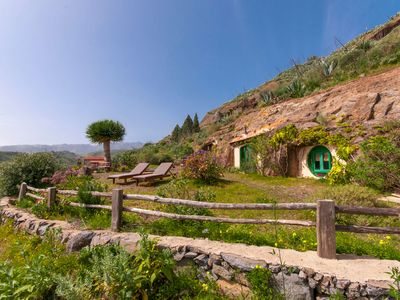 Photo for Hobbit cave style house in Santa Brigida