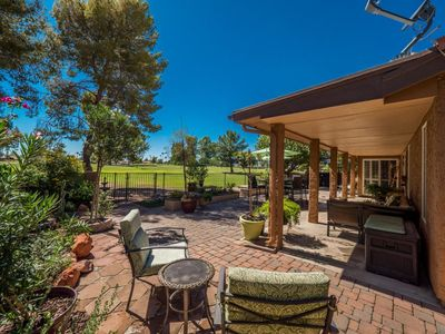 Photo for Captivating home located on the golf course in stunning Sun Lakes Country Club..