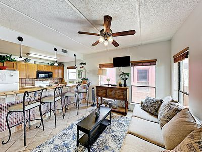 Photo for New Listing! Central Locale: 175 Yards to Beach, Near Schlitterbahn Waterpark