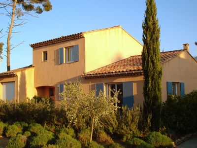Photo for Attached, comfortable villa located in a villa park with an 18 hole golf course and open air pool.