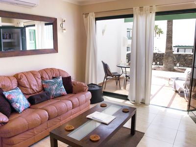 Photo for Modern Apartment with Wifi, Air Con and U.K. TV programmes in Puerto Del Carmen