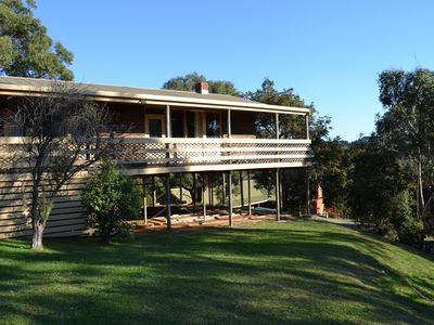 Photo for Warrawong Group Lodge on a beautiful 36 acre property in Mornington Peninsula