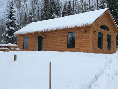 Photo for Cabin rentals near Stowe, Smuggler's Notch, snow machine and hiking trails.