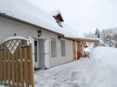 Photo for Detached house with private garden at the edge of the Serre Chevalier piste