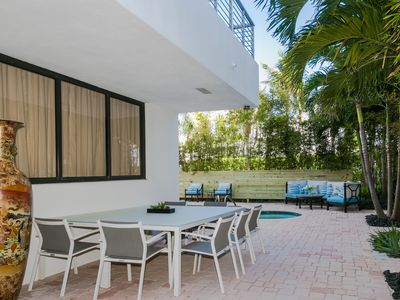 Photo for Large beachfront Oasis on Fort Lauderdale Beach