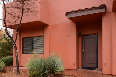 Front Entrance of our Unit J Townhome