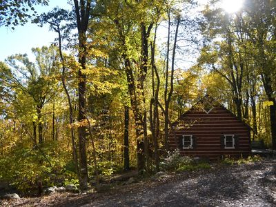 Photo for Blue Mountain Log Cabin **WiFi Available**