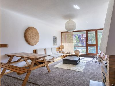 Photo for Superb Charlotte Perriand Les Arcs 1800 style apartment