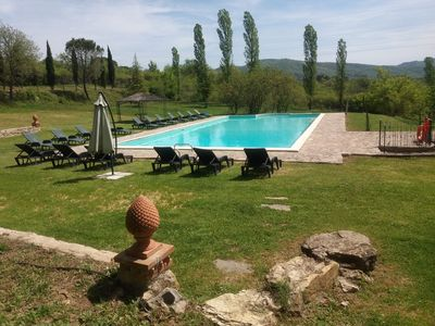 Photo for Panoramic charming villa, pool, wi-fi, cooking lesson, weddings
