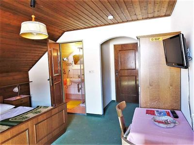 Photo for Double room with shower, WC - Santner, guest house