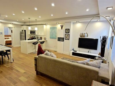 Photo for Brand new beautiful contemporary garden duplex in Brooklyn's prime Bedstuy!