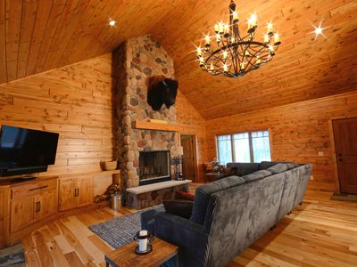 Photo for Exclusive Ski-in, Ski-out Custom Log Home in Gated Edelweiss Community!