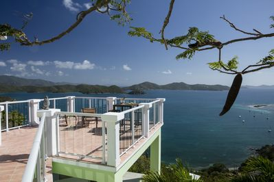 You'll never forget the colors of the Caribbean from your view from Wind Ridge