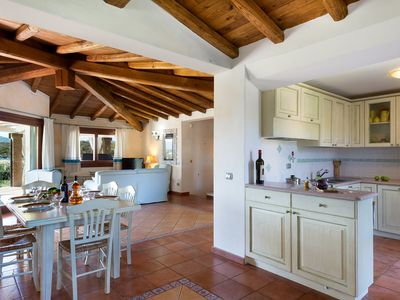 Photo for SINGLE VILLA WITH SWIMMING POOL AND BIG PRIVATE GARDEN, TWO STEPS FROM THE BEACH
