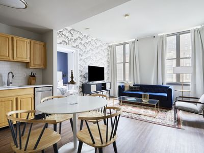 Photo for Sonder | Liberty Place | Bright 2BR + Kitchen