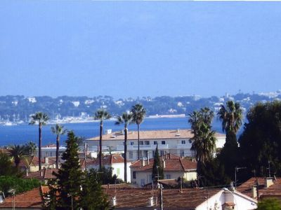 Photo for T2 comfortable apartment in calm and CLIMATISE GULF JUAN-on FRENCH RIVIERA