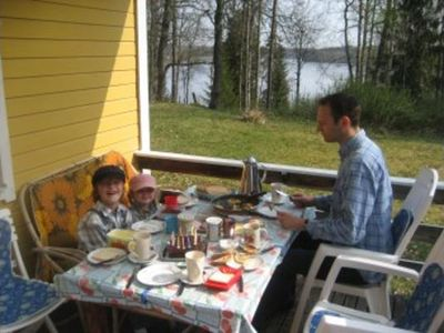 Photo for House on the lake in a secluded location with 2 boats on 2 lakes, 3000 sqm Grundst.