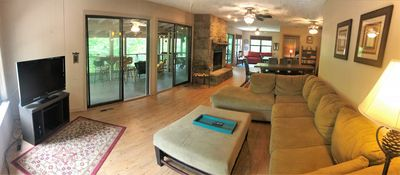 Photo for Lone Star Lake House, WATER FRONT, Satellite, WiFi, Decks, Screen, Boat Access Swimming and More