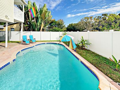 Photo for Spacious 4BR w/ Resort-Style Backyard: Private Pool, Grill & Alfresco Dining