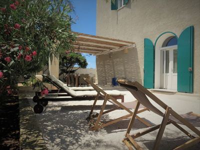 Photo for Exclusive apartment in an ancient villa on the sea_Baia di Punta Prosciutto