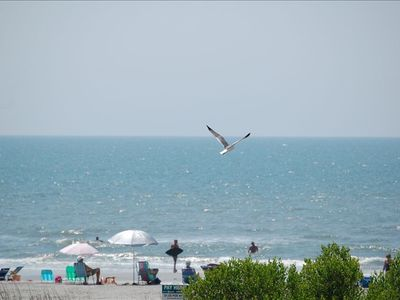 Photo for Folly Beach is OPEN!  Great Ocean View with Deck - summer dates available!