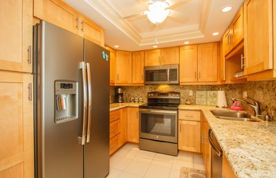 Photo for Beautifully Renovated 2-bedroom, 2-bathroom, Beachfront Condo with Optimal Southern Exposure!