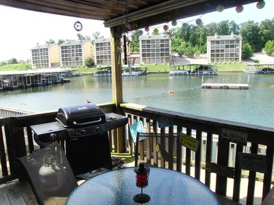Photo for Closest condo to the water on the lake!  Only steps from the water!