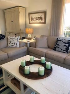 Photo for Stunner on the beach!  1200sqft Updated Condo