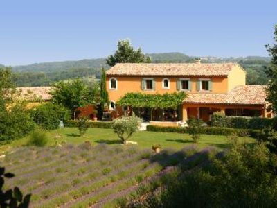 Photo for Lodging in Provencal Mas-Grand-Vue exceptional comfort-Patio-Shared Pool