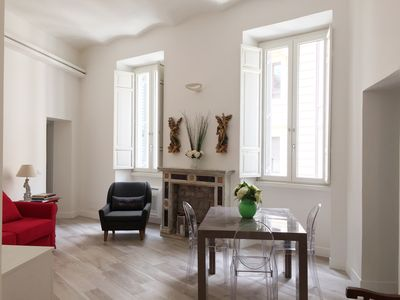 Photo for Navona Campo dei fiori Design & Charm 2 bedrooms apartment
