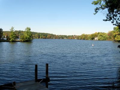 Lake from the dock area