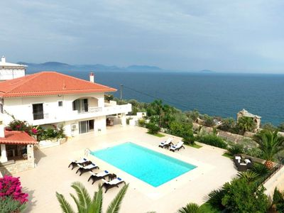 Photo for R762 Villa Lucas with Sea and Mountain Views Daily Maid Service