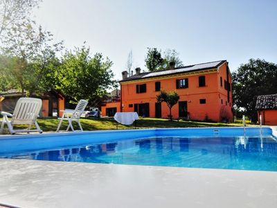 Photo for Villa Maria with pool and wellness centre in Mondavio, only 20 minutes from the beach.