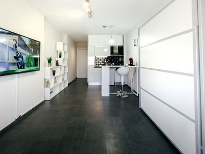 Photo for Beach Ground D-Luxury Studio - 1 minute from the beach