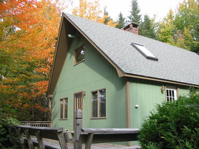 Spruce Lodge at Hadley Point is Wonderful in The Summer & The Fall!