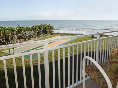 Photo for Right on the Beach. Family & Pet Friendly. Great Ocean views