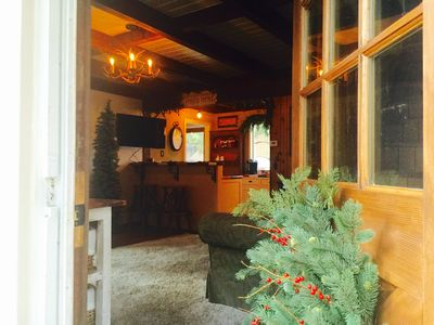 """Photo for """"THE"""" ROMANTIC COTTAGE NESTLED IN THE WOODS BY BIG BEAR SKI RESORT......"""