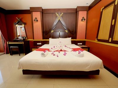 Photo for ☆Artistic Thai-Style Superior Room in ❤️of Patong☆