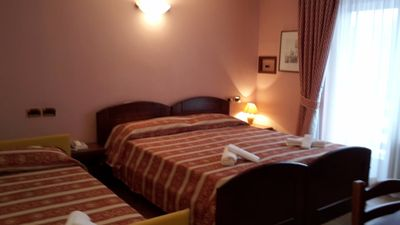 Photo for TRIPLE ROOM 1 at Hotel Italia in Brusson - Valle d'Aosta
