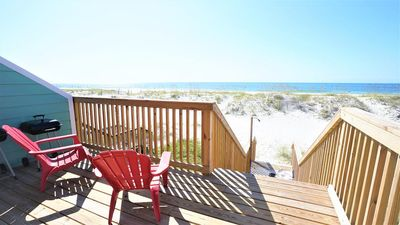 Photo for ***PET FRIENDLY, DIRECT GULF FRONT DUPLEX, NEWLY RENOVATED, GREAT LOCATION - BEACHBALL PROPERTIES